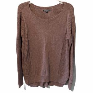 American Eagle Purple Knitted Sweater